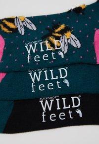 Wild Feet - FLUFFY BEE SOCKS 3 PACK - Sokken - multi - 3