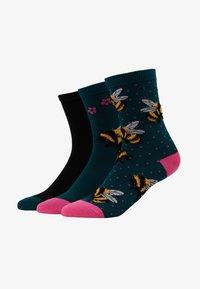 Wild Feet - FLUFFY BEE SOCKS 3 PACK - Sokken - multi - 1