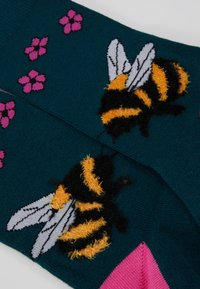 Wild Feet - FLUFFY BEE SOCKS 3 PACK - Sokken - multi - 2