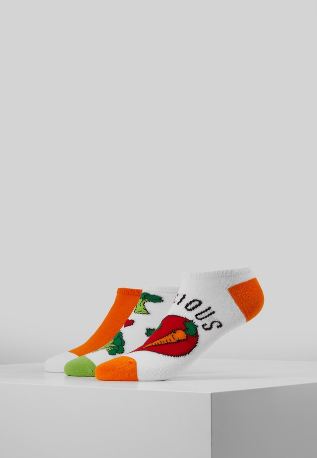 VEGGIES TRAINER SOCKS 3 PACK - Ponožky - multi-coloured