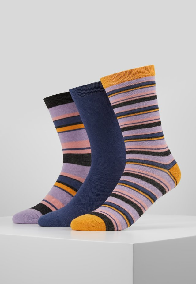 STRIPES SOCKS 3 PACK - Ponožky - multi