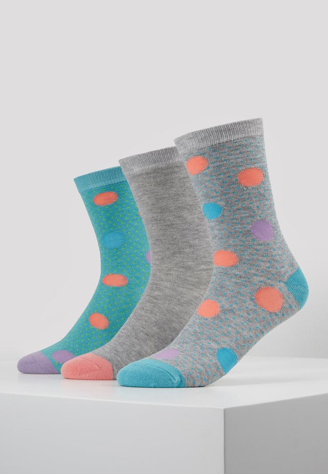 DOTTY SOCKS 3 PACK - Ponožky - multi