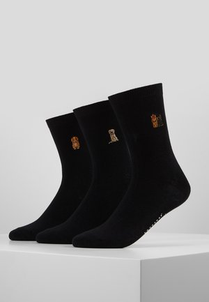 DOGS EMBROIDERED SOCKS 3 PACK - Sokken - multi