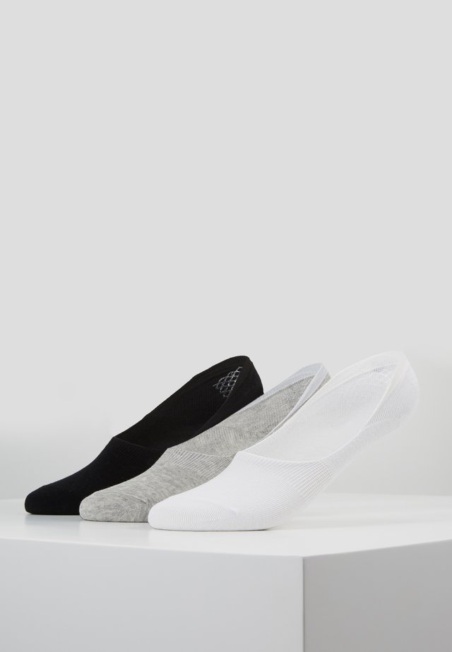 INVISIBLE SOCKS 3 PACK - Enkelsokken - white