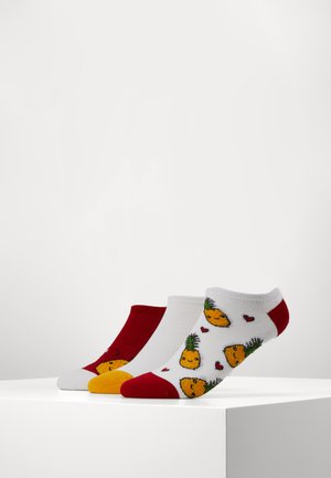 PINEAPPLE TRAINER SOCKS 3 PACK - Sokken - multi