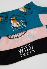 Wild Feet - HAMSTER TRAINER SOCKS 3 PACK - Sokker - multi - 3