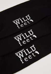 Wild Feet - SPACE EMBROIDERED 3 PACK - Skarpety - black - 2