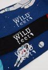 Wild Feet - SPACE SOCKS 3 PACK - Socks - multi-coloured