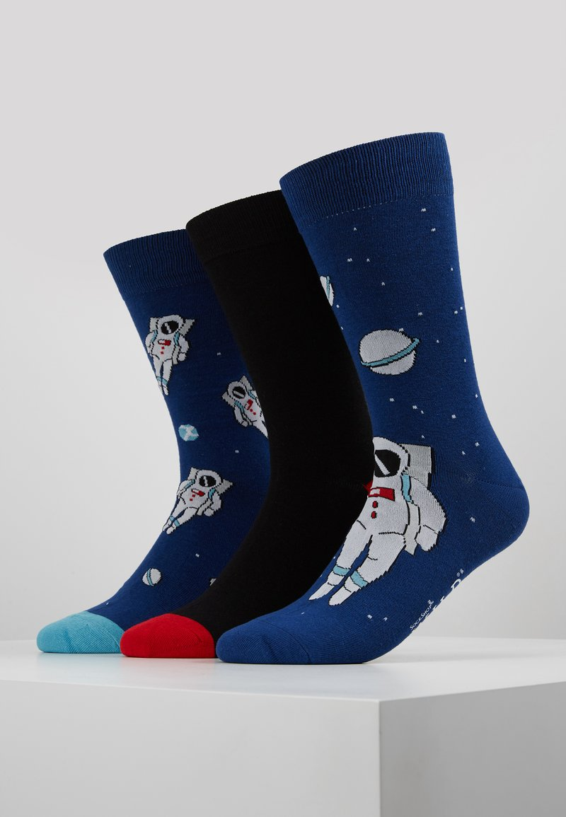 Wild Feet - SPACE SOCKS 3 PACK - Chaussettes - multi-coloured