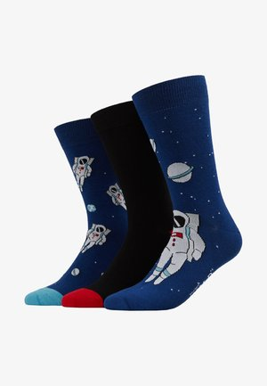 SPACE SOCKS 3 PACK - Chaussettes - multi-coloured
