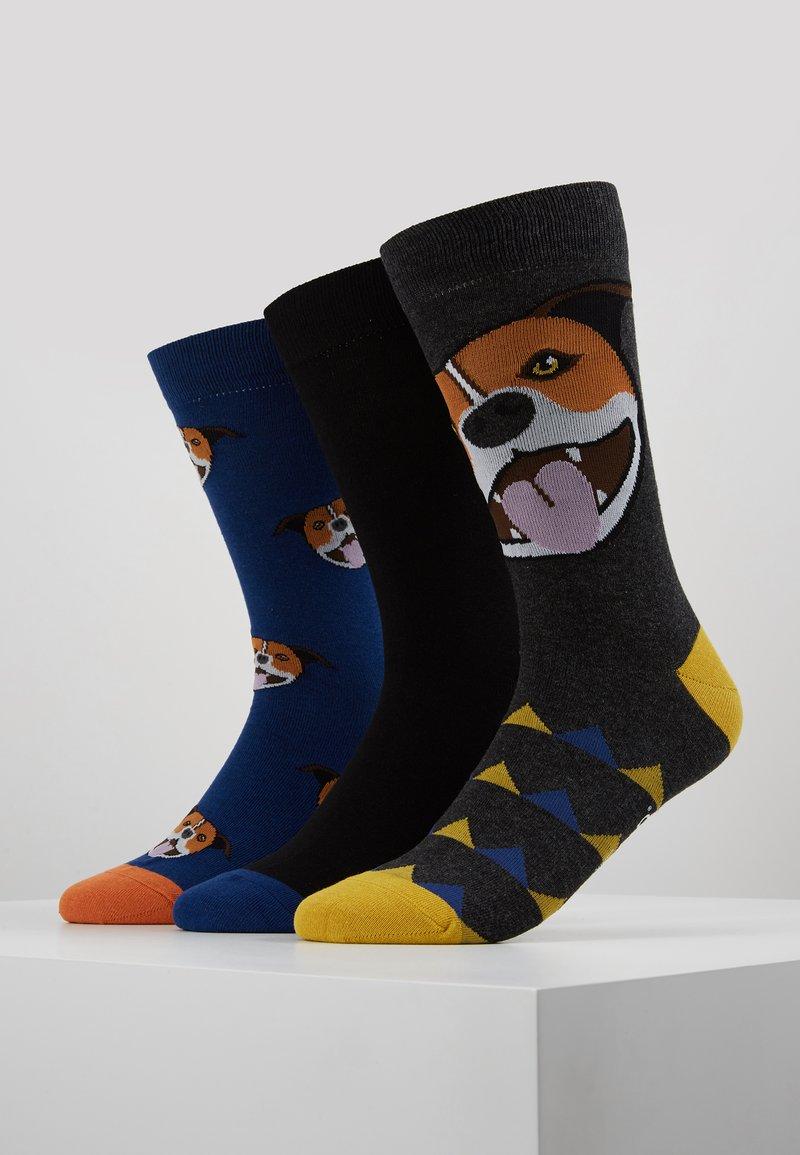 Wild Feet - DOG SOCKS 3 PACK - Strumpor - multi-coloured
