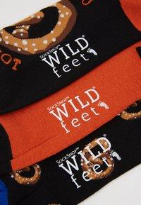 Wild Feet - PRETZEL SOCKS 3 PACK - Calcetines - multi-coloured - 2