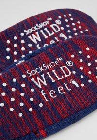 Wild Feet - WILD FEET SNOWMAN SLIPPER BOOTIE - Socks - multi - 2