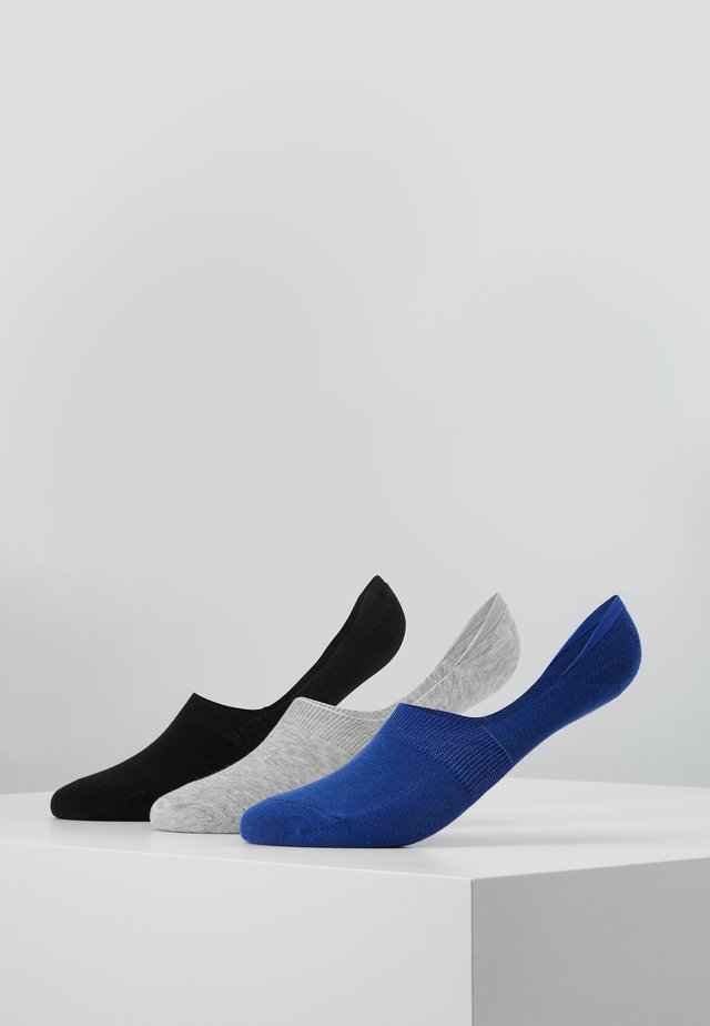 MENS INVISIBLE SOCKS 3 PACK - Stopki - multi