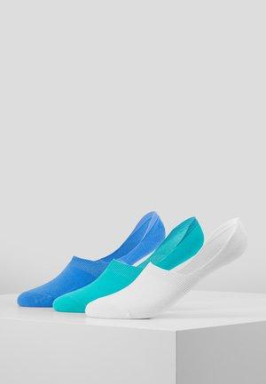 MENS INVISIBLE SOCKS 3 PACK - Sportovní ponožky - multi