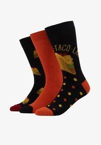Wild Feet - TACO SOCKS  3 PACK - Skarpety - multi-coloured - 1