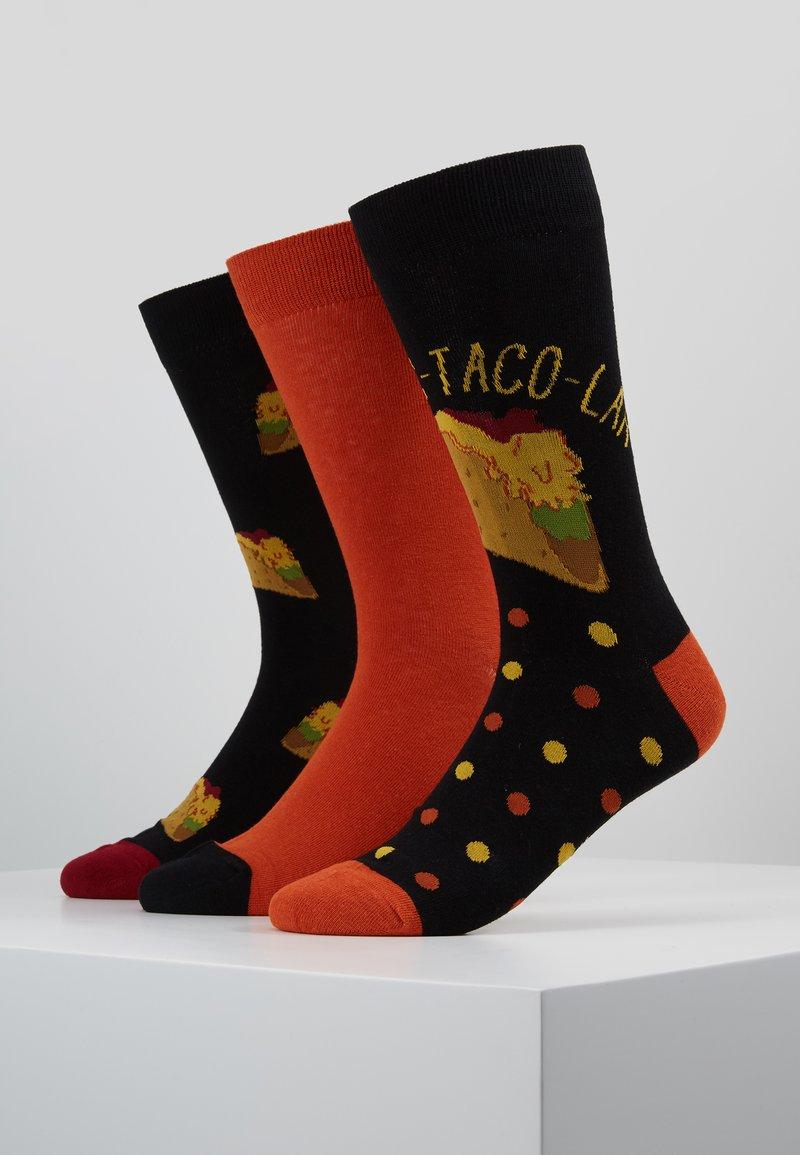 Wild Feet - TACO SOCKS  3 PACK - Skarpety - multi-coloured