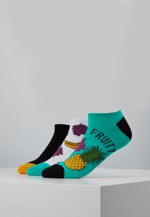 MENS FRUIT TRAINER  3 PACK - Socken - multi-coloured