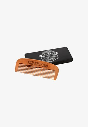 WOOD BEARD COMB MADE OF PEAR WOOD - Huidverzorgingstool - -