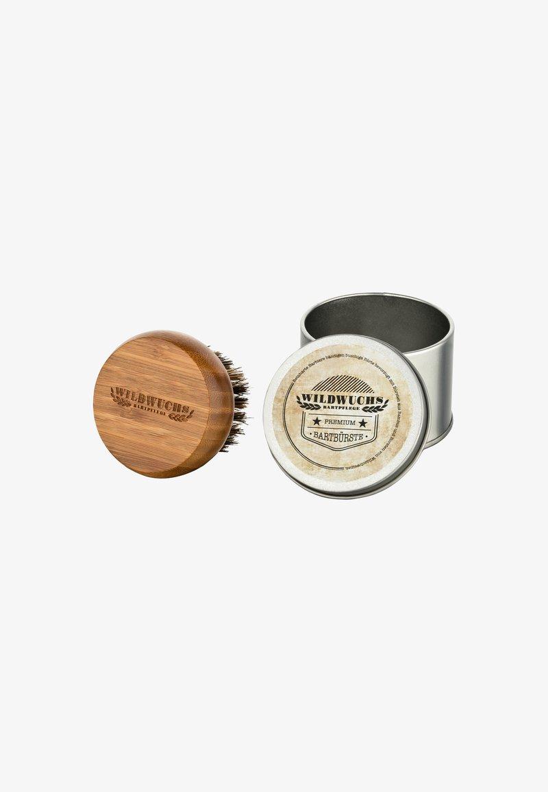 Wildwuchs Bartpflege - BAMBOO WITH WILD BOAR BRISTLES - Brush - -