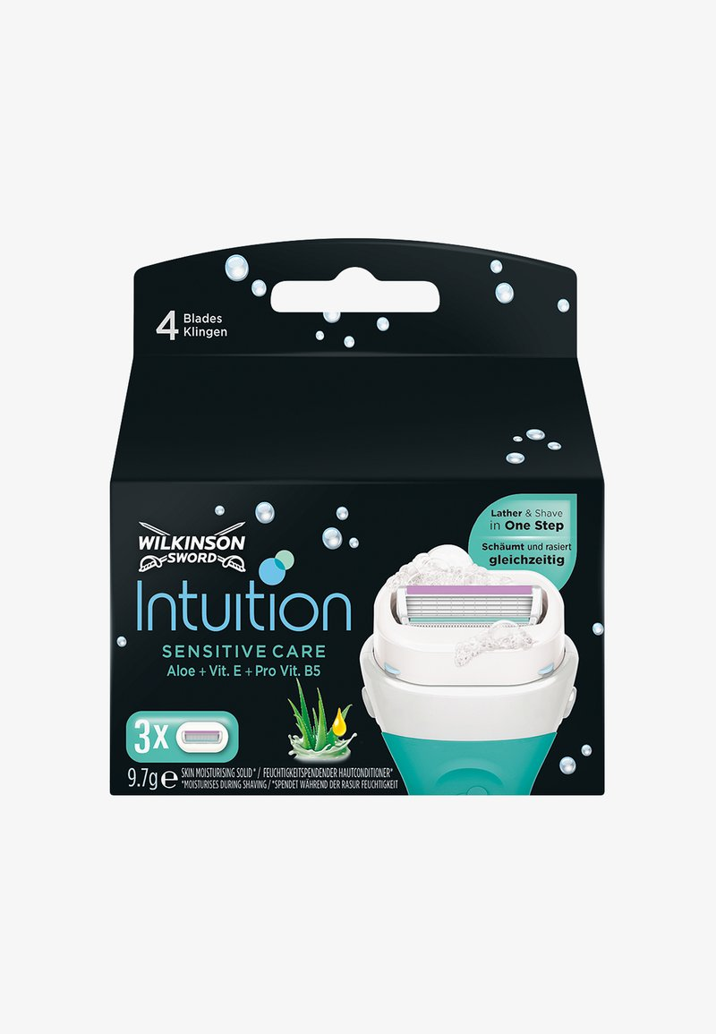 Wilkinson Sword - INTUITION SENSITIVE BLADES 3PCS - Hair removal - -