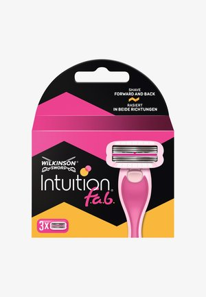 INTUITION FAB BLADES 3PCS - Usuwanie owłosienia - -