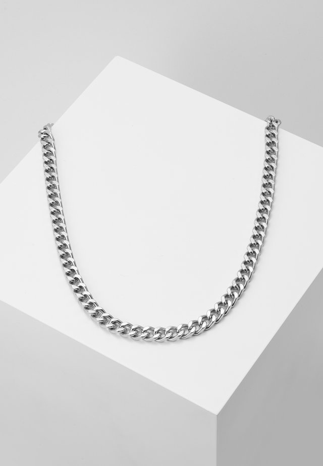 HEAVY HIT NECKLACE - Naszyjnik - antique silver-coloured