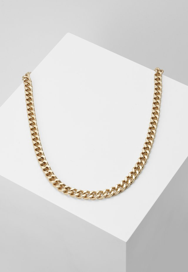 HEAVY HIT NECKLACE - Naszyjnik - antique gold-coloured