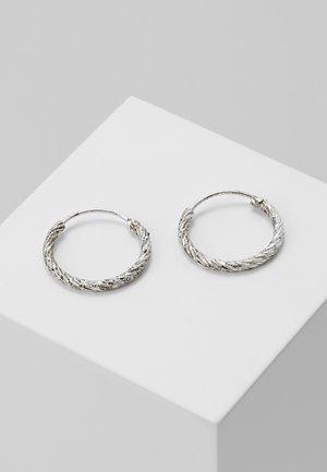 EARRINGS - Kolczyki - antique silver-coloured