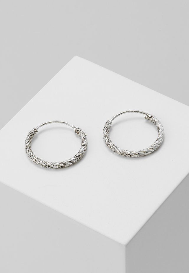 EARRINGS - Kolczyki - antique silver-coloured