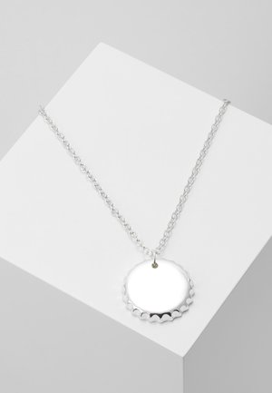 BOTTLE PENDANT NECKLACE - Náhrdelník - silver-coloured