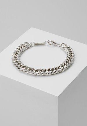 HEAVY LINK BRACELET - Bracelet - silver-coloured