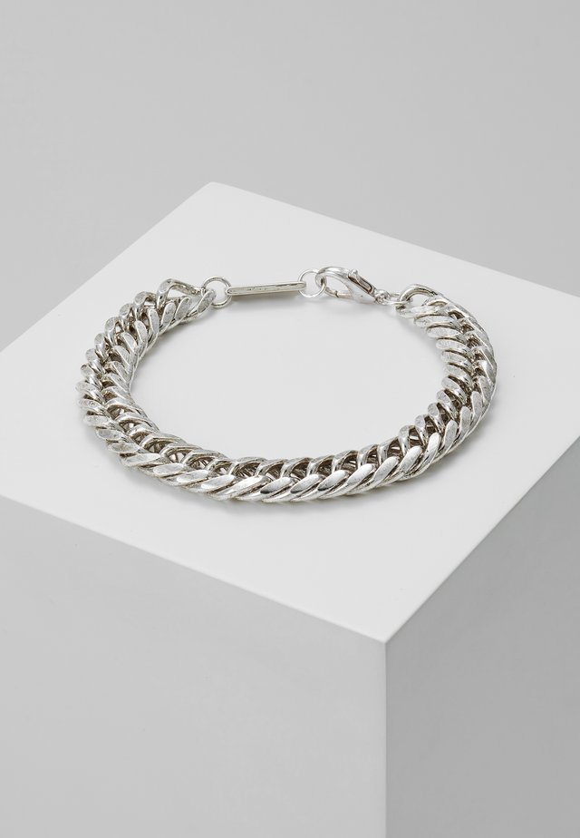 HEAVY LINK BRACELET - Bransoletka - silver-coloured