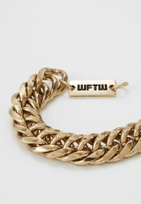 Wild For The Weekend - HEAVY LINK BRACELET - Armbånd - gold-coloured - 4