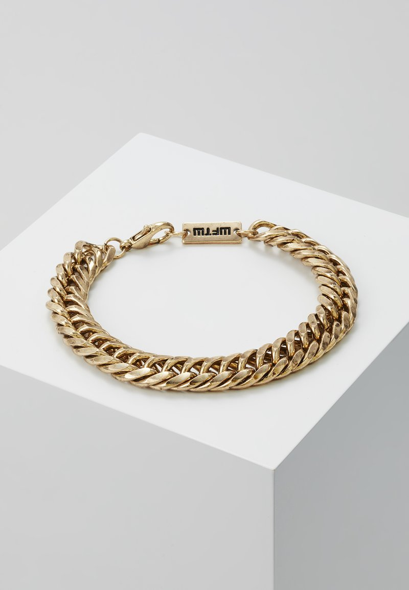 Wild For The Weekend - HEAVY LINK BRACELET - Armbånd - gold-coloured