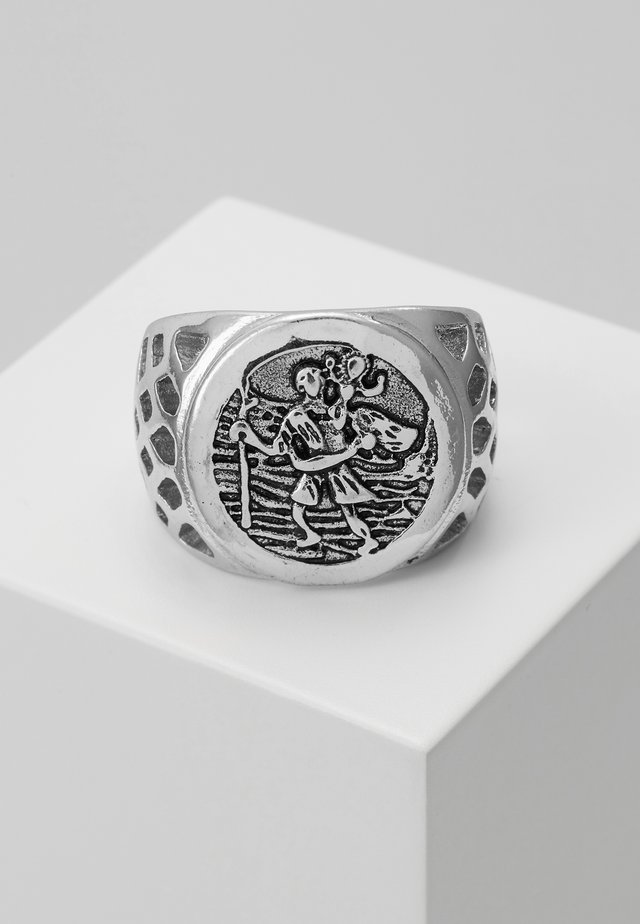 SOVEREIGN SIGNET - Ring - silver-coloured