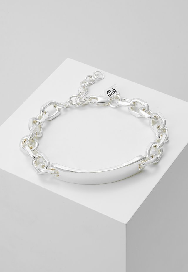 BREAK ENTER CHAIN BRACELET - Bransoletka - silver-coloured