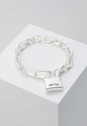 LOCKDOWN LINK CHAIN BRACELET - Bracciale - silver-coloured