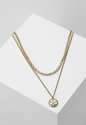 IN WFTW WE TRUST LAYERED NECKLACE - Necklace - gold-coloured