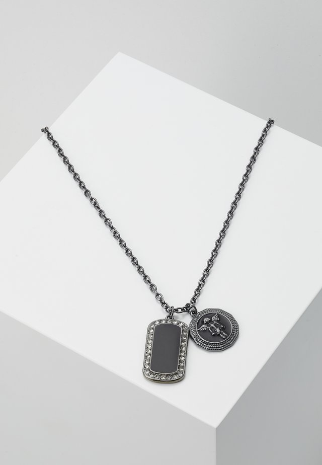 HEAVENLY DOG TAG - Naszyjnik - gunmetal