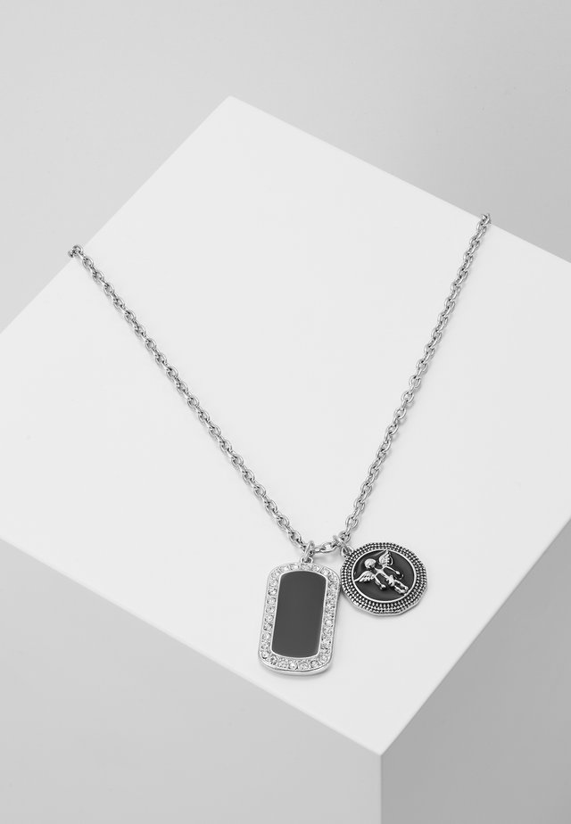 HEAVENLY DOG TAG - Naszyjnik - silver-coloured