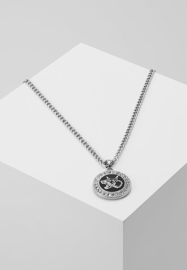 DOBERMAN PENDANT - Náhrdelník - silver-coloured