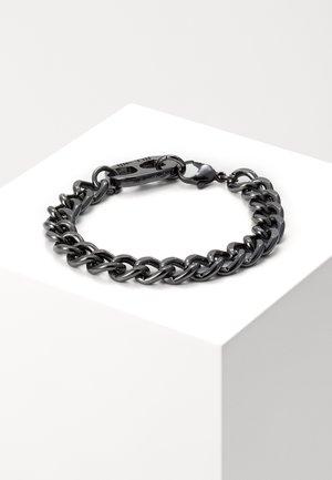 RING PULL CHAIN BRACELET - Armbånd - gunmetal