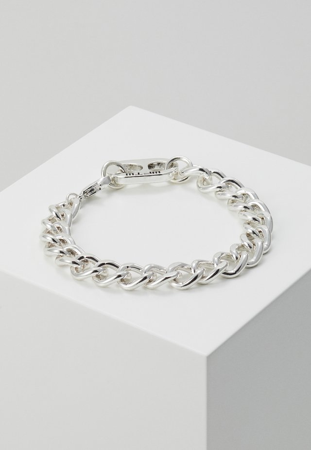 RING PULL CHAIN BRACELET - Armbånd - silver-coloured