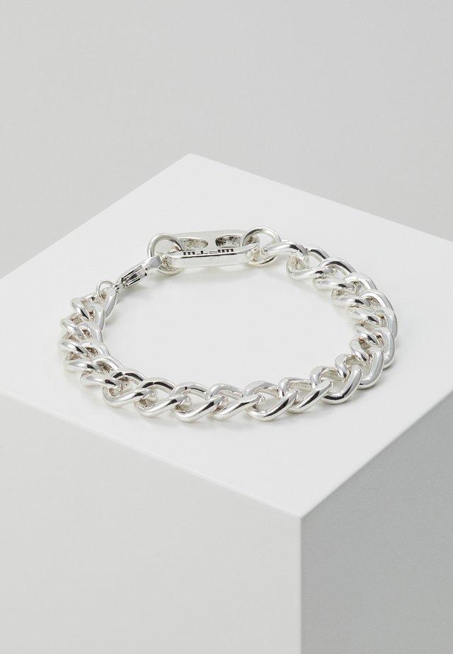 RING PULL CHAIN BRACELET - Bracelet - silver-coloured