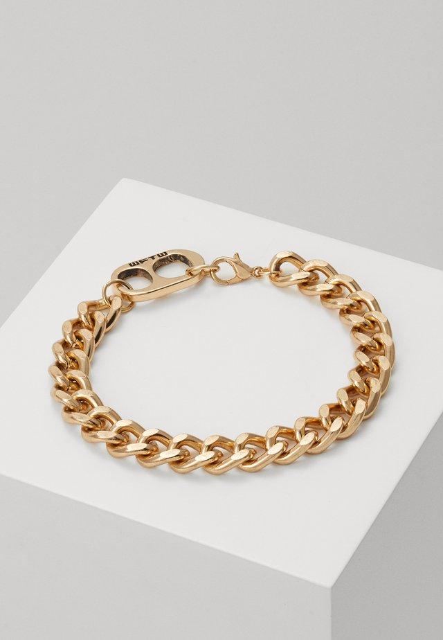 RING PULL CHAIN BRACELET - Bracelet - gold-coloured