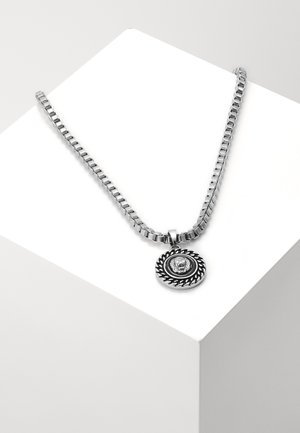 CHAIN AND LION HEAD NECKLACE - Náhrdelník - silver-coloured