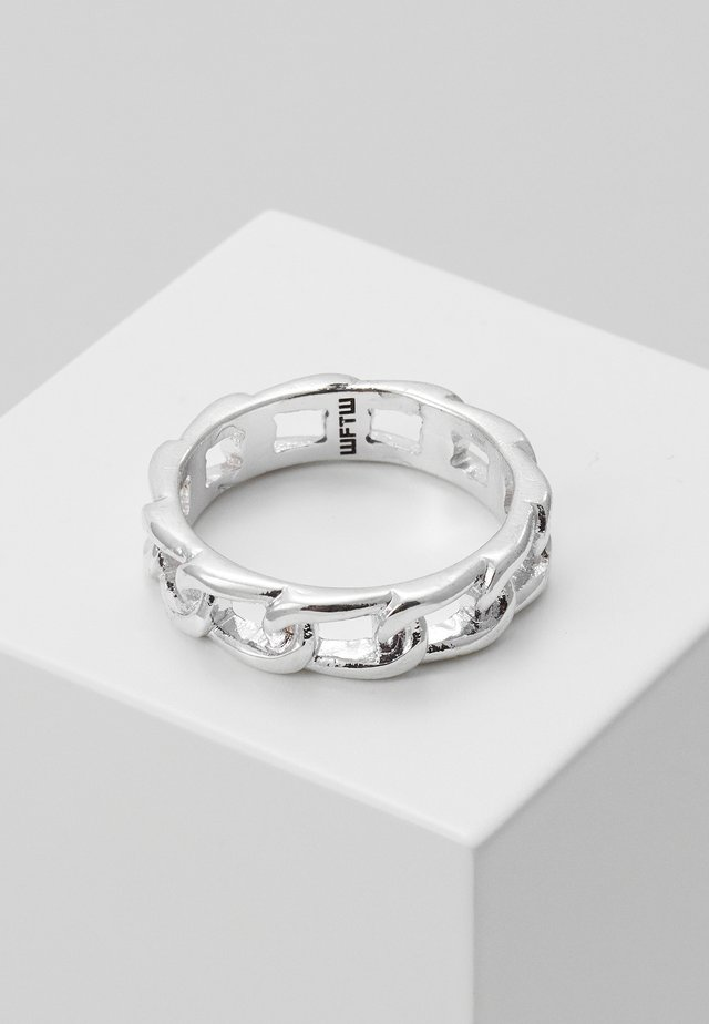 CHAINED BAND - Prsten - silver-coloured