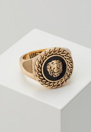 CHAIN AND LION HEAD - Sormus - gold-coloured