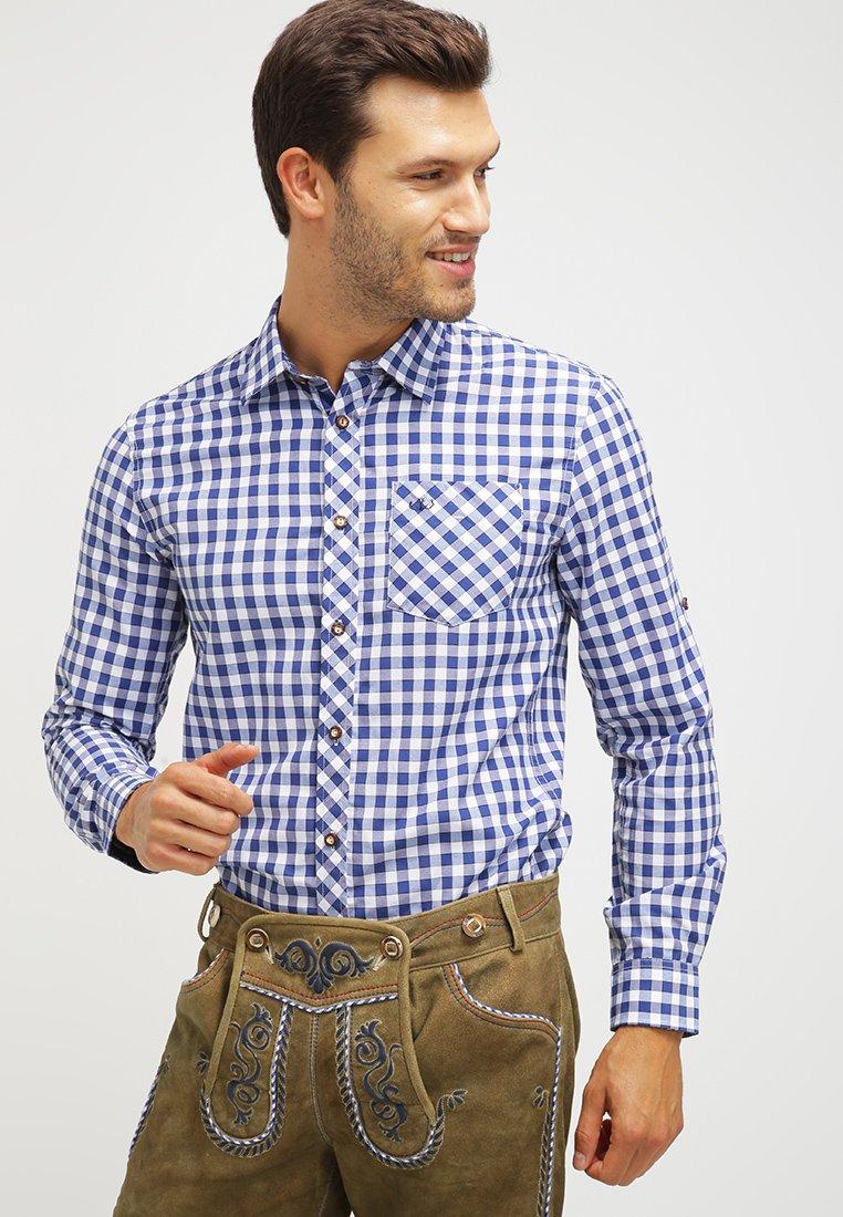 Wiesnkönig - LAURIN - Hemd - blau
